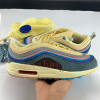 2020 Sean Wotherspoon X 1 / 97s OG VF SW Hybrid Mens Womens Running Shoes High Quailty Men KPU Fashion Sneakers US 5.5-11