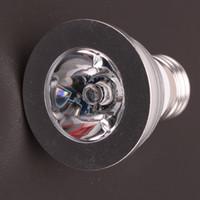 Haute qualité 3W RGB LED Spot 16 LED couleur lampe 24 touches télécommande IR pour la chambre à coucher Salon