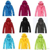 여름 여성 남성 브랜드 비 자켓 코트 야외 코트 후드 방풍 및 방수 자외선 차단제 얼굴 코트 블랙 화이트 XS-XXXL 선물