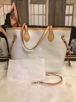 2020 горячее надувательство новых женщин кожаная сумка большой емкости плеча сумки Tote Повседневный Простые Top-ручка Браун рук сумки сумки дизайнерские сумки