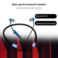 T22 Wireless Headphone With Mic Support TF SD Card Magnetic Connection Bluetooth V5.0 Earphone Stereo Bass Sporting Headsphone
