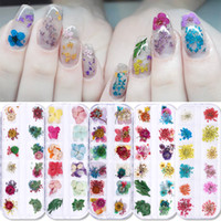 1 Box 3D Nail Art Decorations Pink Yellow Purple Nail Colorf...
