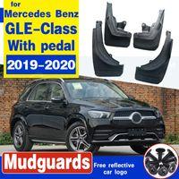 Car bavettes Fender BOUE Splash Guard pour Mercedes Benz Garde-boue GLE classe V167 W167 2019-2020 avec la pédale Accessoires