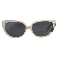 Gafas de sol Nilerun Marca Antigua Moda Clásico Gran Gato Gran Gato Jelly Color Cuerno de buey Hecho a mano para las mujeres Lentes Lentes