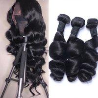 فضفاض موجة حزم الماليزية الشعر حزم 100٪ ملحقات الشعر الإنسان ريمي الشعر فضفاض موجة 3 حزم الإنسان يمكن شراء