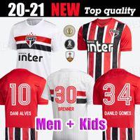 2020 Sao Paulo Dani Alves Shirts Football Kit Kit enfants Pablo Pato Antony Soccer Jersey Adulte Camisa Sao Paulo Femme 20/21 Uniforme de gardien de but