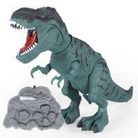 Remote Control de infrarrojos Toque Sensor Robot Programación Inteligente Dancing Voz Dinosaurio Dinosaurio Mecánico Tyrannosaurus Rex Juguete