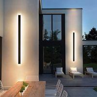 JML LED Lámparas de pared IP67 Impermeable Outdoor Wall Washer Barra de luz para Villa Patio Multi Tamaño LED Luz de barra