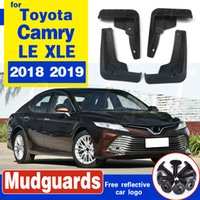 Vorne Hinten Auto-Schmutzfänger für Toyota Camry 2018 2019 LE XLE Daihatsu Altis Mudflaps Spritzschutz Schmutzfänger Kotflügel Fender 2017