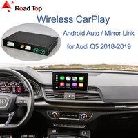 لاسلكية أبل CarPlay الروبوت واجهة السيارات لأودي Q5 2018-2019، مع تشغيل وظائف مرآة رابط البث السيارات