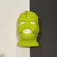 Хип-хоп Трэвис Скотт маски холодной шляпа jackboys альбом периферийный гангстер головной убор ветрозащитной головной убор