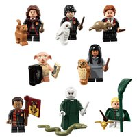 Harry Potter Hermine Granger Ron Weasley Lord Voldemort Dean Thomas Dobby Draco Malfoy Cho Chang Mini-Spielzeug-Action-Figur Building Blocks