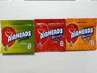 Airheads Bag Xtremes Cannaburst Arco-íris Vazio Mylar Sacos Embalagem 400mg Zipper Pacote Infundido Embalagem Mylar Bag Pacote Fast Ship