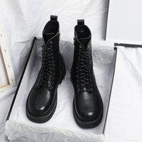 الأحذية yuxiang الخريف المرأة جولة تو مشبك الأحذية الداخلية زيادة الأزياء زائد حجم الكعب مربع جلد
