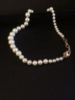 Top Sell! Classics Mode Colliers courts et longs perles pour femmes Pendentif collier bijoux de mariage avec sac de flanelle