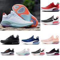 Joyride Run Flyknit Running Shoes Universidade Triplo Preto Vermelho Branco Platinum Red Racer Azul Sports Sneakers Utility EUR 36-45
