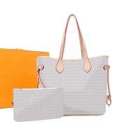 Atacado 2 pcs Set Top Quality Mulheres Bolsas Totes Senhoras Cintura Saco Ombro Crossbody Bags Messenger Bags Senhora Embreagem Embreagem Pursem41180