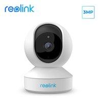 Reolink 3MP kapalı wifi kamera PANTILT 2 yönlü ses uzaktan erişim SD kart yuvası ip kamera E1
