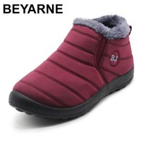 BEYARNE2019 Winter Boots for Women Waterproof Snow Boots for...