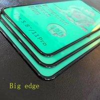 18D completa cobertura TPU borda ponta macia de vidro temperado protetor de tela do telefone para iphone if 2020 iphone 11 pro Max xr xs max 8 7 6 mais de vidro