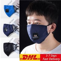 US STOCK Party Drink Masks Adult Outdoor Anti Pollution Fog Cotton Mouth Straw Mask Reusable Washable Dustproof Protective Face Cover FY6092