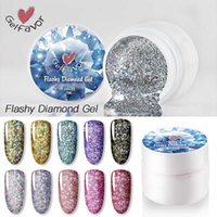 Prego gel 5ml super brilhante platinum tinta laca absorver o glitter uv led lantejoulas polonês diamante estrelado
