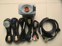 estrela C3 do Mb ferramenta de diagnóstico vermelho pro com 7 cabos para automóveis e caminhões 12v 24v sem disco rígido de alta qualidade