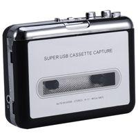 12V USB-Cassette Player Klebeband PC MP3-CD-Switcher Konverter-Sicherungs-o Musik-Player mit Kopfhörern