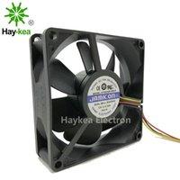 Chłodzenie fanów KF0825B1 8cm 80 * 80 * 25 DC 12 V 0.3A 3 Pin WIRE INVERTER CPU
