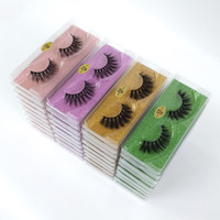 3D Mink Lashes wholesale Luxury Hand Made Mink Eyelashes Hig...