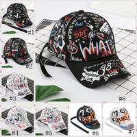 Boné de beisebol 8styles Graffiti cauda longa hip-hop chapéu da forma ao ar livre Graffiti bonés Snapback Hip Hop bonés de beisebol GGA3664-1