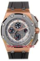 Jf, hochwertige super version.26568om. Schumacher Limited Edition, Titan-Hülle! Titan-Keramikring, 3126 Chronograph-Bewegung, königliche Eiche