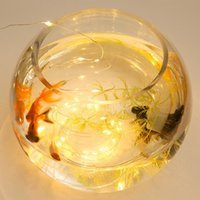 1M 2M 3M Lamp Cork Shaped Bottle Stopper Light Glass Wine Waterproof LED Copper Wire String Lights For Xmas Wedding Party Decor DBC DH0976-4