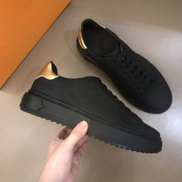 2020 new men's flat shoes fashion trend graffiti leather shoes lightweight comfortable breathable casual shoes size 38-44M