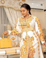 Roupas étnicas Long Maxi Vestido 2021 Vestidos Africanos para Mulheres Dashiki Verão Plus Size Senhoras Tradicional Fada Dreess