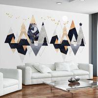 Custom 3D Photo Wallpaper Modern Triangle Geometric Fresco Creative Art Bedroom Sofa Living Room TV Background Wall Paper Mural
