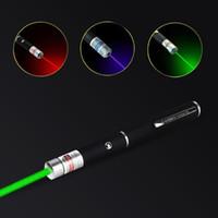 5MW haute puissance Lazer pointeur 650nm 532nm 405nm Laser Rouge Bleu Vert Sight lumière stylo puissant compteur laser