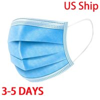 Free Shipping 3- 5 Disposable face masks 50pcs bag adult colo...