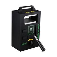 ROSIN Pressemaschine Carlifornia Warehouse auf Lager Wärmepresse Machine 4TONS Druck für die Extraktion mit Doppelplatten 4,5x4,7 Zoll