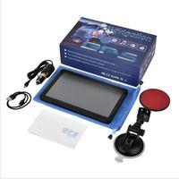 Schermata di navigazione GPS per auto Capactive 9 pollici 256M + 8GB FM Bluetooth AVIN portatile Dispositivo veicolo Navigator libero UE Stati Uniti AU Mappe T30