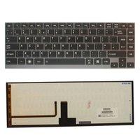 لوحة مفاتيح جديدة للتوشيبا U800 U820 U830 U840 U800W U845 U845W كمبيوتر محمول مع الخلفية