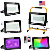 Led Flood lumières 10W 50W 100W 150W 200W SMD LED haute Lumens Projecteurs Outoodr Éclairage Paysage AC 110-240V + nous Stocks