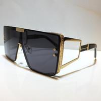 Gafas de sol para hombres y mujeres Estilo de verano BPS 102 Anti-ultravioleta Retro Forma redonda Placa Marco completo Lentes de moda Caja aleatoria 10