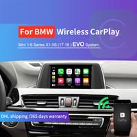 سيارة اللاسلكية التفاح يمكن أن android الروبوت ل bwm x1 x3 x5 x6 evo system تعديل carplay دعم airplay mrrorlink carlife مرآة