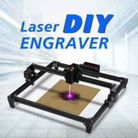 Принтеры Totem Laser 2500MW CNC Graving Machine 2AXIS 3D Принтер DIY Engraver Настольный деревянный Маршрутизатор / Резак / принтер + лазерные очки