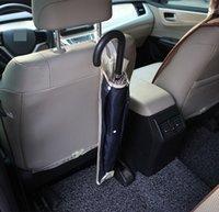 Soporte de paraguas para automóvil Bolsa de paraguas impermeable plegable para automóviles Multifuncional Bolsa de almacenamiento Vehicular Colgante de paraguas Titular de bolsillo