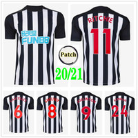 2020 2021 Ritchie United Soccer Jerseys Joelinto Lascelles Shelvey Yedlin Almiron Gayle Custom 20 21 Nufc Home Adulto Kids Football Shirt