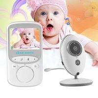 Беспроводной LCD Audio Video Baby Monitor Radio Nanny Music Intercom IR 24H Портативная Детская Камера Детская Уколеба Talkie Babysitter VB605