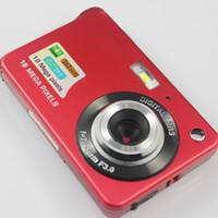 Moda 18MP 2.7 inç TFT LCD Dijital Kameralar Video Kaydedici 720P HD Kamera 8X Zoom Dijital DV Anti-shake COM'ları HD Video Recoding 3 Renk