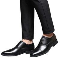 أحذية اللباس Womail جلد الرجال حجم كبير 38-48 أوكسفورد أزياء عارضة قطرة الزفاف الأعمال الرسمي